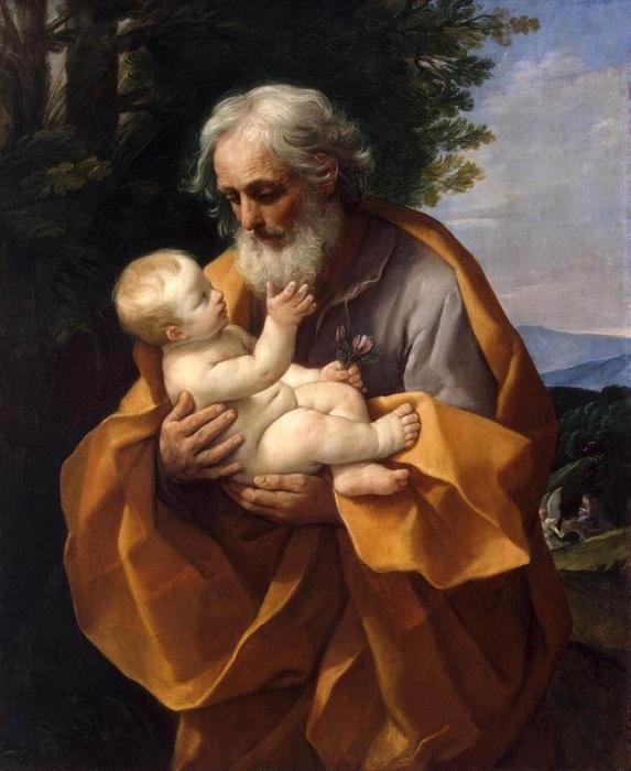 Встреча Симеона и Сына Божьего.