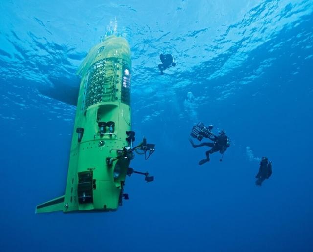 Аппарат для погружения на глубину