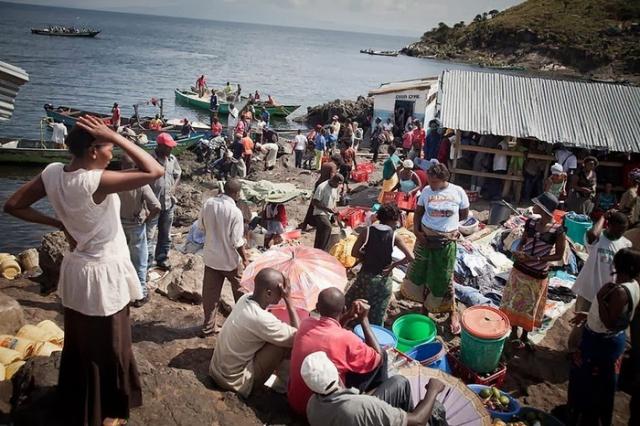 Крупнейший рыбный рынок
