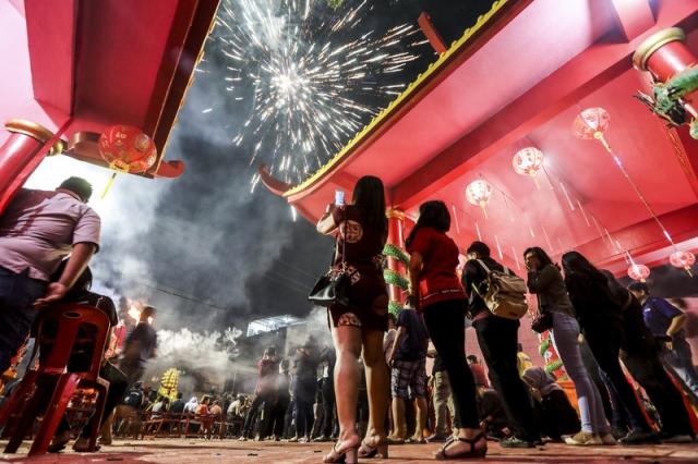 Фото: Как в Азии отметили китайский Новый год 2018 (Фото)