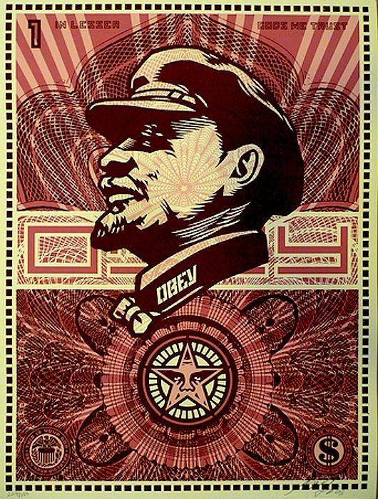 Shepard Fairey LENIN MONEY, 2003.jpg