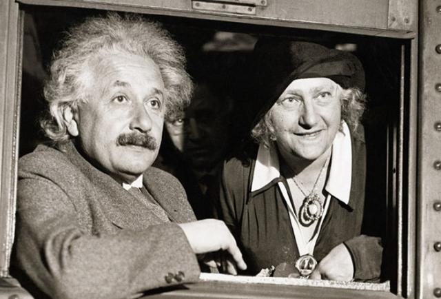 Альберт Эйнштейн и Эльза Ловенталь.