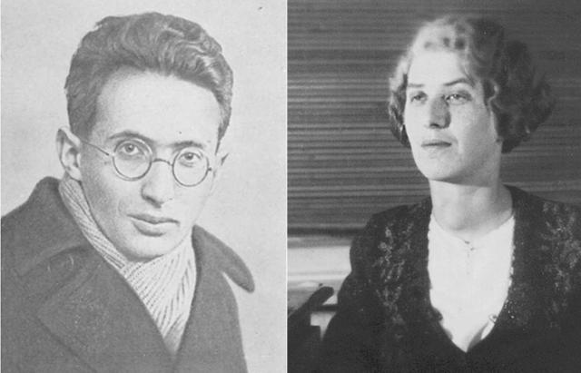 Матвей Петрович Бронштейн и Лидия Корнеевна Чуковская.