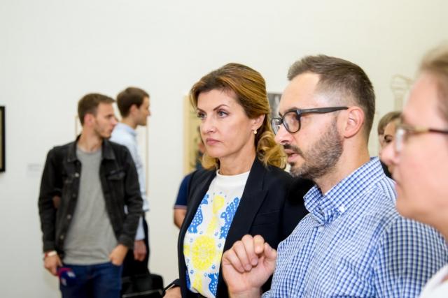 Марина Порошенко и Павел Гудимов