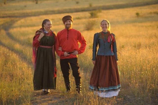 Славяне./Фото: Peopleandtimes.ru