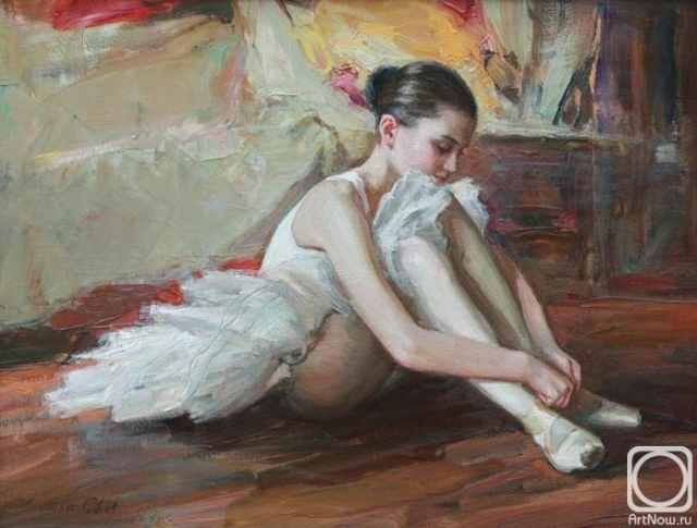 Гибет Алиса. Юная балерина (700x530, 260Kb)