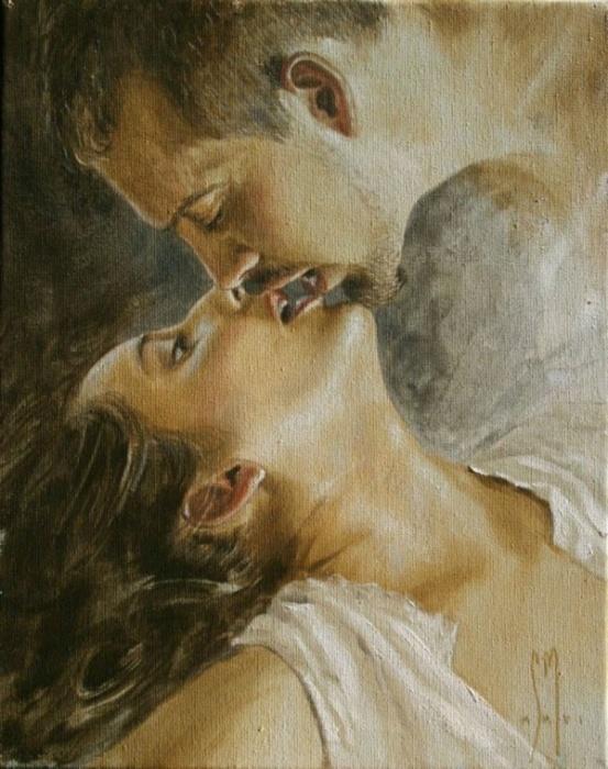 Подари мне поцелуй. Автор: Sergio Martinez Cifuentes.