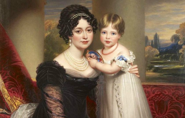 Мама воспитывала принцессу Викторию в строгости