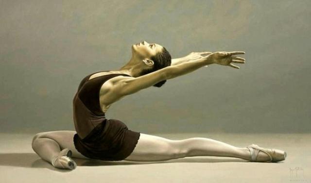 Посвящая себя балету. Автор: Sergio Martinez Cifuentes.