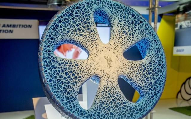 Michelin Vision возобновляются за счет допечатывания на 3D-принтере
