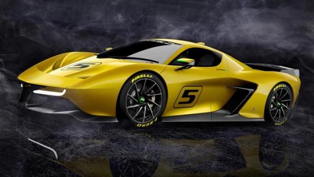Fittipaldi EF7 GTR