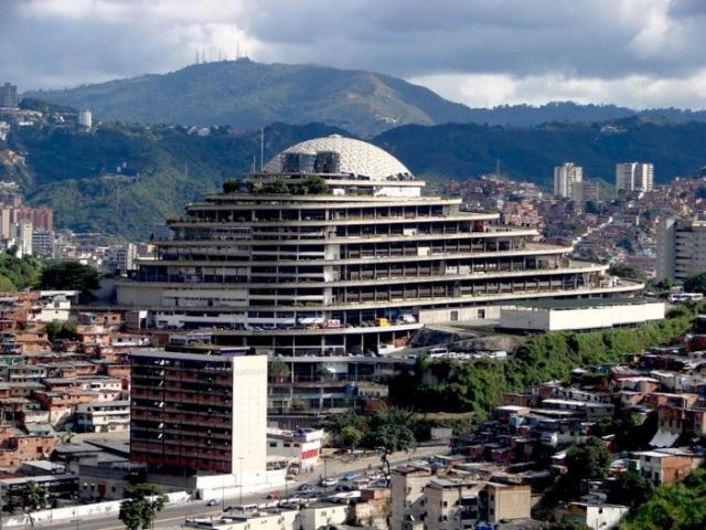 El Helicoide - одна из визитных карточек Венесуэлы.