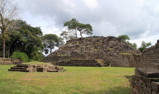 Так сейчас выглядит древний город майя на полуострове Юкатан