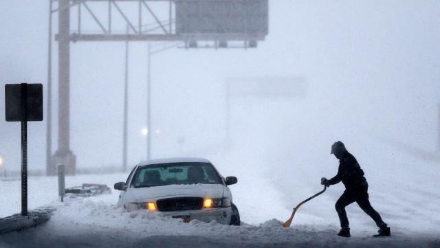 """Результат пошуку зображень за запитом """"Последствие снежной бури в США: удивительные снимки - фото."""""""